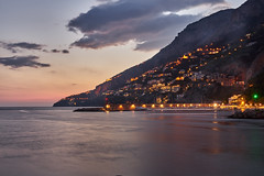 Amalfi Coast (AgarwalArun) Tags: sony a7m2 sonyilce7m2 landscape scenic nature views amalfi amalficoast italy europe costieraamalfitana unescoworldheritage bayofnaples salerno sunset nightscene nightcitty nightview ocean reflections