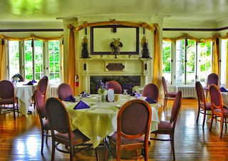 Hillside Lodge - Gaslight Village - Wyoming New York -  Dining Room
