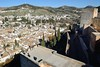 Alcazaba of the Alhambra and Granada cityscape in Granada, Spain (transitpeople) Tags: alcazabaofalhambra alcazaba alhambra granada spain