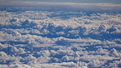 Landing in Marrakech, clouds and mountains (José Rambaud) Tags: marruecos marrakech marrakesh atlas highatlas hautatlas atlasrange mardenubes seaofclouds clouds nubes aerial aerea inflight iberia snow nieve snowcapped moonlight mountains montagnes montañas viaje travel traveler fromabove
