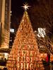 Xmas Tree at the Roppongi Hills (gemapozo) Tags: xmastree illumination roppongihills 645z pentax tokyo japan roppongi 港区 東京都 日本 jp hdpentaxdfa645macro90mmf28edawsr 六本木ヒルズ 夜景 イルミネーション