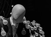 Mr. Light (PhilR1000) Tags: pinkfloyd delicatesoundofthunder mannequin lightbulb bw