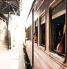 Curious girl (Mevout) Tags: train tren girl niña fille window ventana fenetre curiosa viaje voyage travel trip car vagon voiture arcen quai freedom libertad liberte mevout