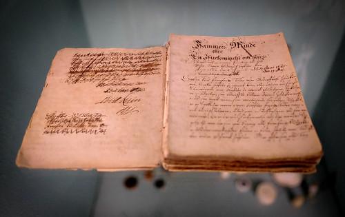 "The original manuscript for Leonora Christina's ""Jammer's Minde"", 1685"