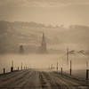 Take Me to Church (spastman1) Tags: 50150mms nx nx1 samsung church cold fog foggy morning natur road snow spastman1 winter