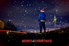 Merry Christmas (mattcollinsmattcollins) Tags: merrychristmas christmas moony mooning ass arse bottom bum bums cheekyexploits