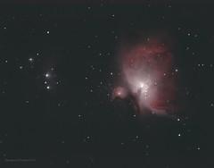 Orion nebula (Themagster3) Tags: orionnebula orion deepsky astronomy astrophotography photosof nightsky nebula