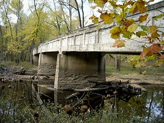 Allerton Park Camel Hump Bridge, Monticello, IL Nov 2007 (RLWisegarver) Tags: piatt county history monticello illinois usa il