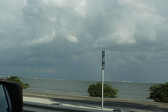 Storm brewing over Tampa (dvn225) Tags: clearwater beach florida summer beautiful tampa storm thunderstorm clouds sky gulfofmexico