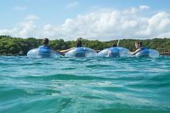 Turquoise Water Float (aaronrhawkins) Tags: xelha mexico tulum caribbean yucatan rivieramaya mayanriviera park tube snorkle family kids swim swimmer vacation christmas tropical tropic trip jackson jessica joshua kellie fun aaronhawkins
