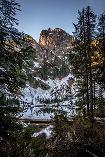 Sunrise at Heather Lake, North Cascades