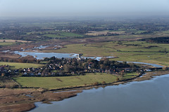 Blythburgh - 'The Cathedral of the Marshes' in Suffolk UK aerial (John D Fielding) Tags: blythburgh blythe estuary suffolk eastanglia nikon d810 above aerial village viewfromplane aerialimage aerialphotography aerialphotograph aerialview aerialimagesuk britainfromabove britainfromtheair hidef highresolution hirez hires highdefinition