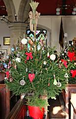 Burwash Church Christmas Tree Festival (ttelyob) Tags: picmonkey burwash church stbartholomews christmas tree trees christmastree