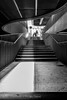 La salida (Alicia Clerencia) Tags: blackwhite sevilla metropol museo museum escaleras stairs people gente urbana street arquitectura arquitecture backlighting contraluz salida exit l
