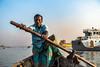 Boatman (Hiro_A) Tags: sadarghat river olddhaka dhaka bangladesh asia boat boatman people sony rx100m3 portrait