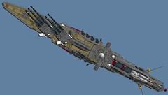SCA_wip3 (Cagerrin) Tags: lego system spaceship starship wip ldd legodigitaldesigner 3d