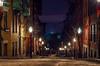 Empty beacon hill street on Christmas Eve (thephotobear) Tags: beaconhill boston streetphotography longexposure