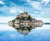 聖米歇爾山 Mont-Saint-Michel (Leric Liu) Tags: 聖米歇爾山 法國 雷恩 montsaintmichel mont saint reflection 諾曼第 normandie