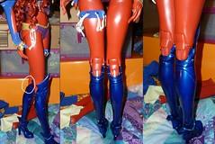 Chalyss back of knees (chalyss) Tags: impldolldeborah chalyss chalice demonhalf hybrid bjd red custom angelsdoll