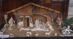 nativity scene (1) (mgheiss) Tags: krippe nativityscene weihnachtskrippe panasonic lumix g7x 20mmf17
