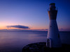 Lighthouse (Blue Ridge Walker) Tags: 田子の浦 夜明け前 灯台