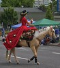 Side Saddle (swong95765) Tags: ride horse parade woman rider wave equestrian