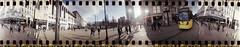 Manchester (619) (benmet47) Tags: film lomo lomography spinner 360 spinner360 city people tram transport urban metrolink bombardier m5000 bombardierm5000