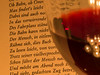 #Macro Mondays  #lit by candlelight (H - D - O) Tags: macromondays lit by candlelight poem gedicht wein wine vino tinto zwischenring