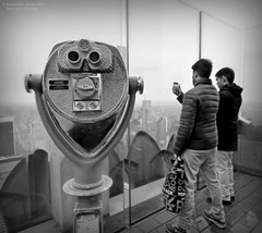 Turn to Clear Vision (goofcitygoof) Tags: picmonkey observationdeck topoftherock