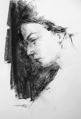 P1017484 (Gasheh) Tags: art painting drawing sketch portrait girl pencil pastel gasheh 2017