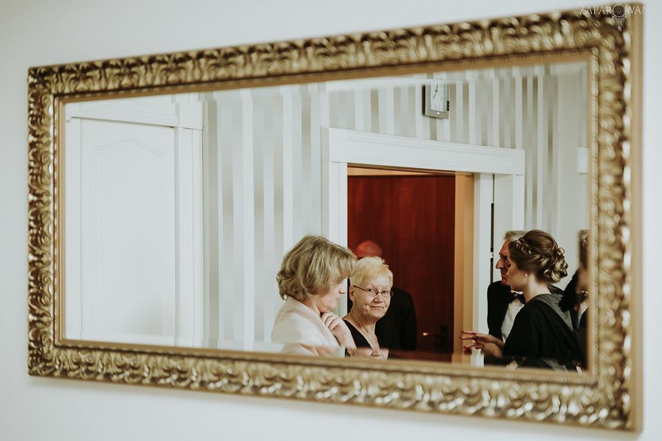 Agnieszka Piotr - Fotografia ślubna Warszawa - Pałacyk Otrębusy - ZAPAROWANA-012