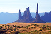 Totem Pole, Monument Valley, USA (Andrey Sulitskiy) Tags: usa arizona monumentvalley