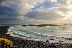 Black Sand Beach (jgrewal_12) Tags: black sand beach iceland sunset nikon d7000 travel nature outdoor