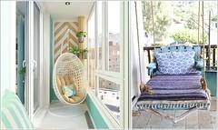 Tiny Balcony Designs With Cozy and Relaxing Swing (kreatecube) Tags: kreatecube interiordesign interiordesigns tinybalcony balcony balconydecor topinteriordesignersdelhi topinteriordesignersindia