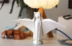 Nativity angel - Max Hulme (Danielle Verbeeten) Tags: origami engel kerst nativity angel paper christmas kerstmis papier papiervouwen max hulme