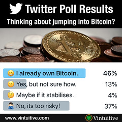 Twitter Poll Results: Bitcoin Fever (Vintuitive) Tags: bitcoin twitter poll