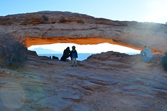 Mesa Arch (Joe Shlabotnik) Tags: nationalpark mesaarch utah 2017 arch canyonlands everett november2017 canyonlandsnationalpark afsdxvrzoomnikkor18105mmf3556ged
