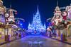 Christmas on Main Street (MarcStampfli) Tags: cinderellacastle disney florida magickingdom mainstreetusa mickeysverymerrychristmasparty nikond3200 themeparks vacationkingdom wdw waltdisneyworld