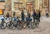 Tourists Tour Bikes (fotofrysk) Tags: bikes biketour tourists guide stephansplatz ststephenscathedral wallplaques pavers pavingstones easterneuropetrip vienna austria wien oesterreich sigma1750mmf28exdcoxhsm nikond7100 201709265945