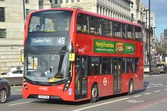 YY67 GZN (2592) Abellio London (hotspur_star) Tags: londontransport londonbuses londonbus londonbuses2017 alexanderdennisltd enviro400hmmc tfl transportforlondon hybridbus hybridtechnology busscene2017 doubledeck abelliolondon yy67gzn 2592 45