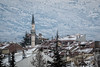 Over the roof tops (The Frustrated Photog (Anthony) ADPphotography) Tags: category eskisehir landscape places snow travel turkey yunusemrecampus travelphotography landscapephotography cityscape residential mosque minaret winter tamron70300 canon70d canon outdoor trees hillside hill tree building city