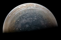 Jupiter's South Pole - Juno Perijove 10 - December 16 2017 (Kevin M. Gill) Tags: jupiter southpole juno junocam perijove10 planetary science astronomy space