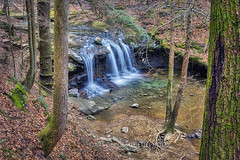 DeBord Falls (from above), 2017.12.30 (Aaron Glenn Campbell) Tags: wartburg tn tennessee outdoors optoutside nature frozenhead statepark pantherbranch debordfalls morgancounty waterfall tnwaterfalls slowshutter 3xp ±2ev hdr macphun aurorahdr2017 nikcollection colorefexpro viveza fotodiox lensadapter canon ef1635mmf28iil wideangle zoom sony a6000 ilce6000 mirrorless