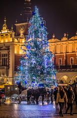 Merry Christmas (Vagelis Pikoulas) Tags: krakow poland canon 6d tamron 70200mm vc travel christmas autumn november 2017 street europe