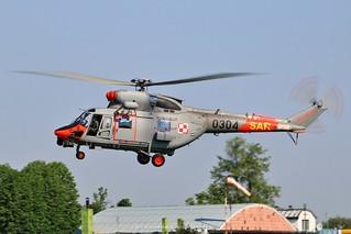 Polish Navy PZL-Swidnik W-3WARM 0304 @ Inowroclaw