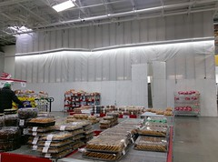 More of the srevice department area goes under the mysterious remodel covering... (l_dawg2000) Tags: 2017remodel apparel café desotocounty electronics food gasstation meats mississippi ms pharmacy photocenter remodel samsclub southaven tires walmart wholesaleclub unitedstates usa