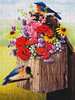 """""""Bouquet for Bluebirds"""" (Explored) (Puzzler4879) Tags: birds bluebirds puzzles jigsawpuzzles jigsaws puzzling bouquetforbluebirds bluebirdart a590is canona590is canonpowershota590is canonphotography canonaseries canonpointandshoot pointandshoot"""