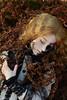002 (Kumaguro) Tags: bjd abjd popodoll ramiel popodollramiel dollstown dollstown15y dark gothic occult skull skeleton forest nature autumn fern