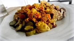 Crazy hash. (Papa Razzi1) Tags: 9612 2017 005365 dinner pyttipanna fridgeraid hot wok veggies chicken hash yummy