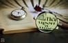 Once upon a time... (photoschete.blogspot.com) Tags: canon 70 eos 50mm literatura libro book literary clock reloj lupa magnifyingglass eraseunavez oneuponatime
